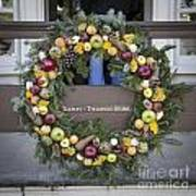 Tarpley Thompson Store Wreath Poster