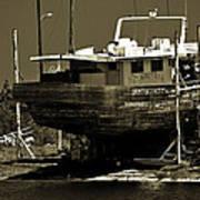 Tarpon Springs Sponge Boat Poster