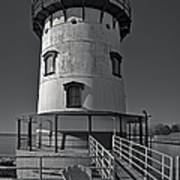 Tarrytown Lighthouse Bw Poster