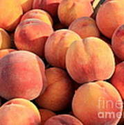 Tasty Peaches Poster by Carol Groenen