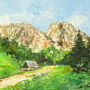 Tatry Giewont - Poland Poster