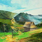 Tatry Mountains Poster
