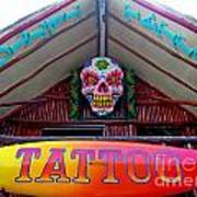 Tattoo Sign  Poster