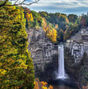 Taughannock Fall 3 Poster