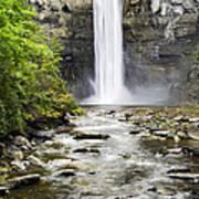 Taughannock Falls And Creek Poster