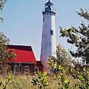 Tawas Point Lighthouse...from Tawas Bay Side Poster