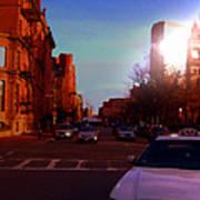 Taxi - Boston Poster