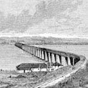 Tay Rail Bridge, 1879 Poster