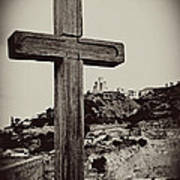 Tbilisi Cross Poster