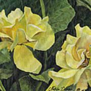Tea Rose Poster by Natasha Denger