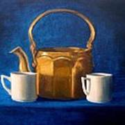Tea Time Poster by Janet King