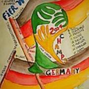Team Germany Fifa Champions Poster