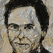 Ted Bundy In Black And White Poster