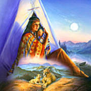 Teepee Of Dreams Poster