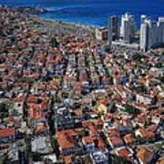 Tel Aviv - The First Neighboorhoods Poster