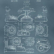 Telephone Patent Poster