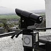 Telescope Near The Entrance Of Stirling Castle Poster