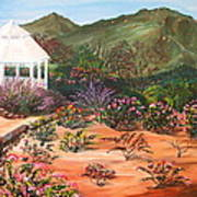 Temecula Heritage Rose Garden Poster