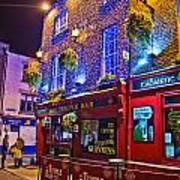 The Temple Bar Pub Dublin Ireland Poster