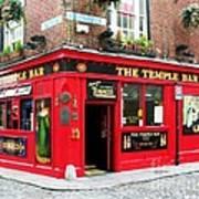 Temple Bar Poster by Mel Steinhauer