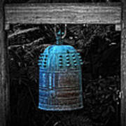 Temple Bell - Buddhist Photography By William Patrick And Sharon Cummings  Poster