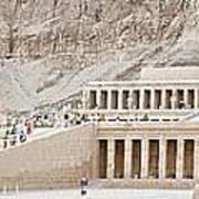 Temple Of Hatsepsut In Egypt Poster