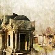 Temple Of Preah Vihear Poster