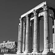 Temple Of Zeus Poster by Gabriela Insuratelu