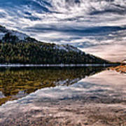 Tenaya Lake Reflections Poster