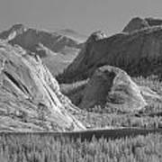 6m6552-bw-tenaya Lake Yosemite Bw  Poster