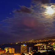 Tenerife's North West Coast  Poster