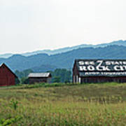 Tennessee Barn Poster by Roger Potts