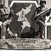 Tennessee Korean War Memorial Poster by Dan Sproul