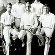 Tennis Team 1921 Poster