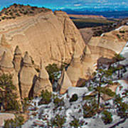 Tent Rocks National Monument Poster