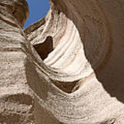 Tent Rocks Poster