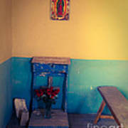 Terlingua Church Offering Poster by Sonja Quintero