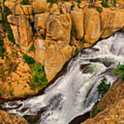 Terraced Falls Poster