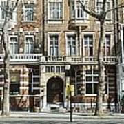 Terraced Houses In Kensington Poster