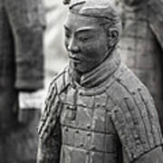 Terracotta Army Warriors In Xian China Poster