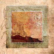 Terracotta Earth Tones Poster