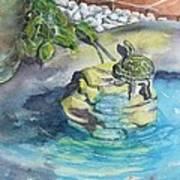 Terrific Turtle Poster