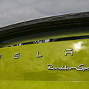 Tesla Roadster Poster