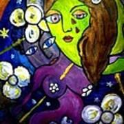 Tete Dans La Lune Poster