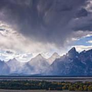 Teton Storm Poster