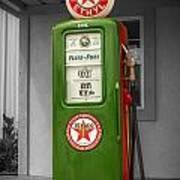 Texaco Gas Pump Poster