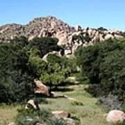 Texas Canyon Landscape Poster