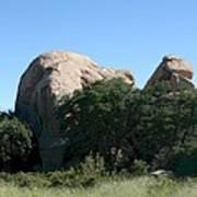 Texas Canyon Megaliths  Poster