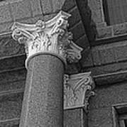 Texas Capitol Detail Poster