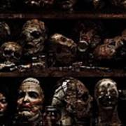 Texas Chainsaw 3d Faces Poster
